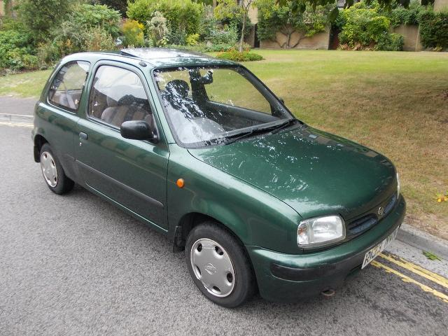 used nissan micra car 2000 green petrol 1 0 passion 3 door hatchback for sale in keynsham uk. Black Bedroom Furniture Sets. Home Design Ideas