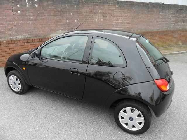 used ford ka 2008 petrol studio 70 3dr hatchback black edition for sale in southampton uk. Black Bedroom Furniture Sets. Home Design Ideas