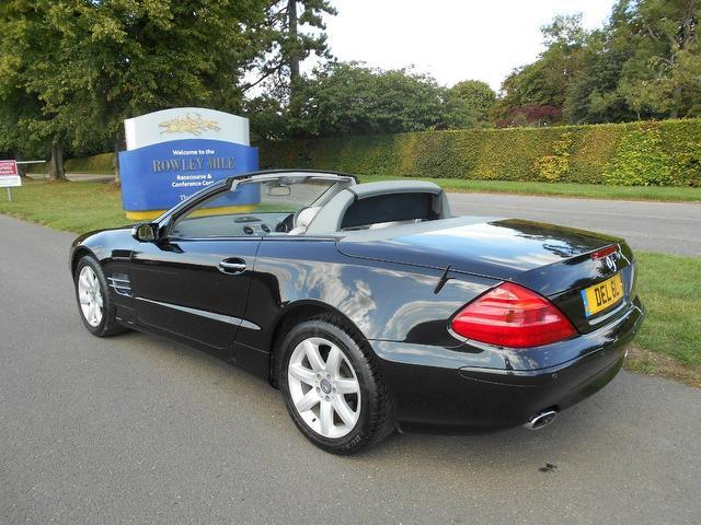 used mercedes benz 2003 petrol class sl 350 2dr convertible black edition for sale in newmarket. Black Bedroom Furniture Sets. Home Design Ideas