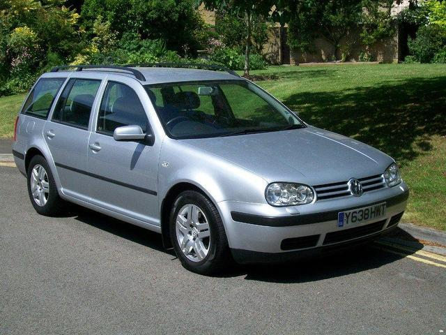 used volkswagen golf 2001 diesel 1 9 s tdi 90 estate silver manual for sale in keynsham uk. Black Bedroom Furniture Sets. Home Design Ideas