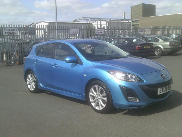 used mazda mazda3 2009 diesel 185 sport 5dr hatchback blue edition for sale in fengate uk. Black Bedroom Furniture Sets. Home Design Ideas