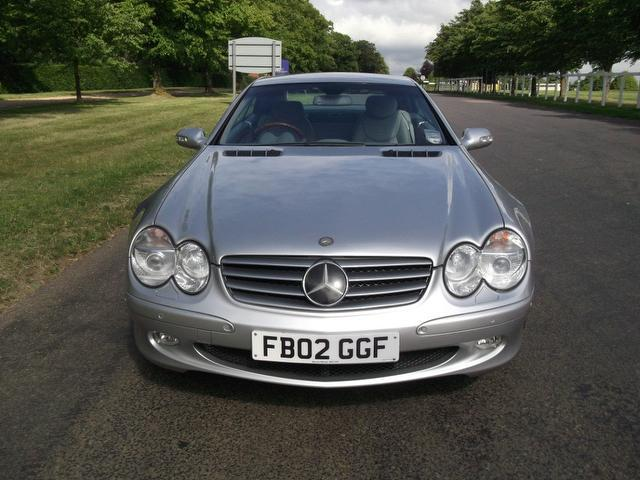 used mercedes benz 2002 petrol class sl 500 2dr convertible silver edition for sale in newmarket. Black Bedroom Furniture Sets. Home Design Ideas