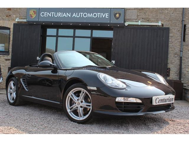 used black porsche boxster 2009 petrol 2 9 2dr 1 owner convertible in great condition for sale. Black Bedroom Furniture Sets. Home Design Ideas