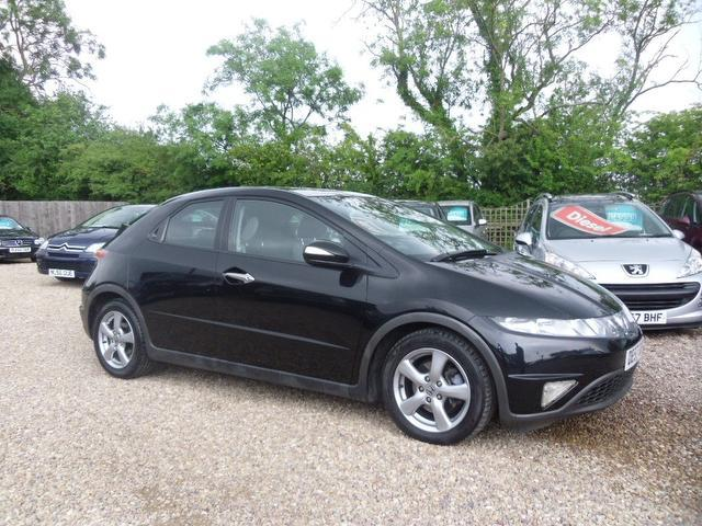 used honda civic 2007 petrol 1 8 i vtec es 5dr hatchback black edition for sale in nuneaton uk. Black Bedroom Furniture Sets. Home Design Ideas