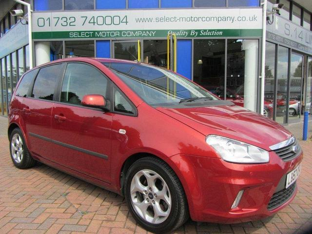 used ford c max 2007 petrol 2 0 zetec 5dr auto estate red. Black Bedroom Furniture Sets. Home Design Ideas